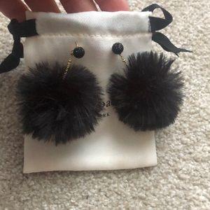 Kate spade poof drop earrings